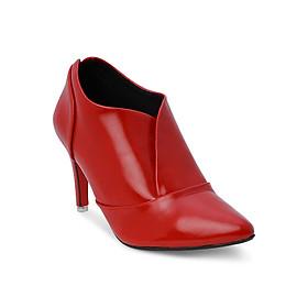 Giày Boot Nữ Cổ Thấp Rosata RO35 - Đỏ