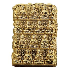 Bật Lửa Khắc Phật Vàng