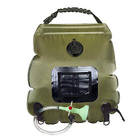 Túi đựng nước tắm dã ngoại 20L tiện dụng hỗ trợ làm nóng nước bằng ánh nắng mặt trời