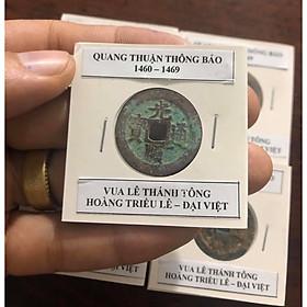 Xu lỗ Vuông, QUANG THUẬN THÔNG BẢO, vua LÊ THÁNH TÔNG, Hoàng Triều Lê, Đại Việt