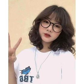 Kính mát phong cách 2 màu Đen, Trắng thời trang kiểu Hàn Quốc