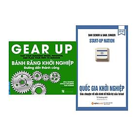 Combo Sách Kỹ Năng Khởi Nghiệp: Quốc Gia Khởi Nghiệp + Bánh Răng Khởi Nghiệp - Đường Đến Thành Công