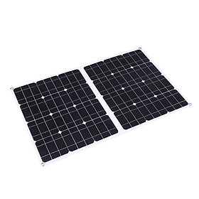100W D C 9V/18V Flexible Solar Panel with USB/ Type C Interface & Car C-harger 10/20/30/40/50A Solar C-harge Controller