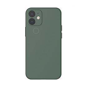Ốp lưng chống bám bẩn cho iPhone 12 Mini / 12 / 12 Pro / 12 Pro Max Baseus Liquid Silica Gel Protective Case_Hàng Nhập Khẩu
