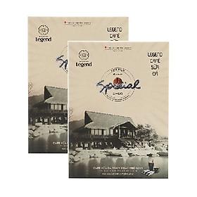 Combo 2 hộp cafe hòa tan sữa đá Legend Trung Nguyên ( 9 gói x 25g / hộp )