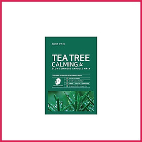 SOME BY MI TEA TREE CALMING SHEET MASK
