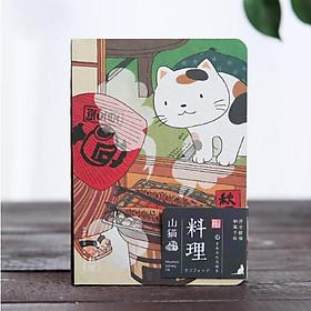 Sổ tay kế hoạch Mèo kute, giấy chống loá (size 10x15 cm)