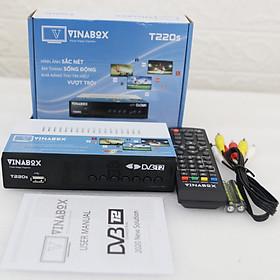 ĐẦU KTS DVB T2 VINABOX T220S THẾ HỆ MỚI 2020 – XEM TRUYỀN HÌNH MIỄN PHÍ- HÀNG CHÍNH HÃNG