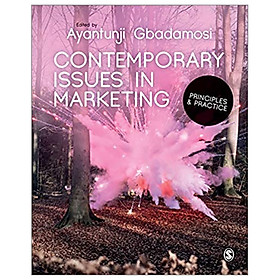 Contemporary Issues In Marketing: Principles And Practice