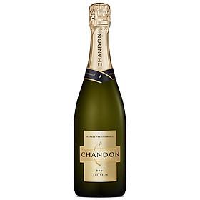Rượu sparkling Chandon Brut 750ml 11.5% - 13.5% – Không hộp