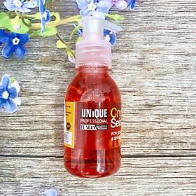 Tinh dầu Unique Serum dưỡng tóc khô hư tổn 125ml - Chính hãng