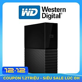 Ổ Cứng Di Động WD My Book 6TB 3.5 USB 3.0 - Hàng Nhập Khẩu