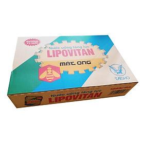 Nước uống tăng lực Lipovitan thùng thường 24 lon (24 x 245ml)