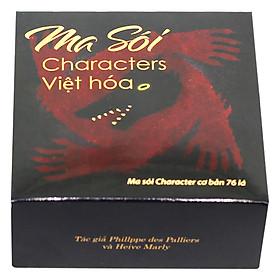 Bộ Bài Ma Sói Characters Việt Hoá