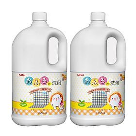 Nước lau sàn và cọ rửa nhà tắm KiRei 1800ml nội địa Nhật Bản