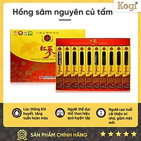 Hộp 10 Củ Hồng sâm 6 Tuổi tẩm mật ong Daedong Korea - Daedong Honeyed Korean Red Ginseng (300g)