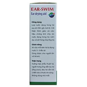 Ear-Swim (Dung dịch làm khô tai. Hàng chính hãng)-4