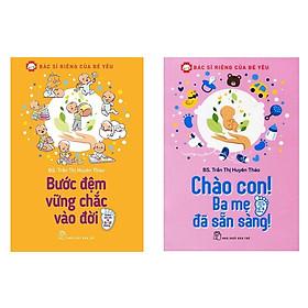 Combo Bác Sĩ Riêng Của Bé Yêu - Chào Con! Ba Mẹ Đã Sẵn Sàng và Bước Đệm Vững Chắc Vào Đời tặng 1 cuốn truyện song ngữ bìa mềm ngẫu nhiên trong 4 cuốn