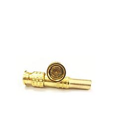 Combo Jack BNC vàng  vít lò xo vặn cố định , lõi đồng (100 chiếc ) loại tốt