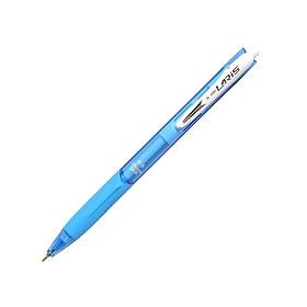Bộ 3 Bút Bi Laris TL-095 - Mực Xanh - Thân Xanh
