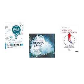 Combo 3 cuốn sách:  Buông Bỏ Buồn Buông + Sự Sống Bất Tử + Điểm đến của cuộc đời