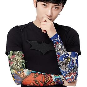 Găng Tay Hình Xăm Tattoo 3d (2 Găng Tay, Mẫu Ngẫu Nhiên)