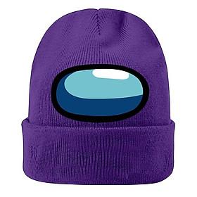 Mũ nón len in hình AMONG US dễ thương