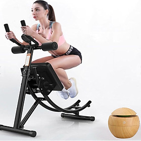 Máy tập bụng đa năng 4.0 - Máy tập thể dục - Chất liệu thép chịu lực cao - Hỗ trợ tập cơ bụng cơ lưng cơ tay cơ ngực + Tặng kèm máy xông tinh dầu cao cấp