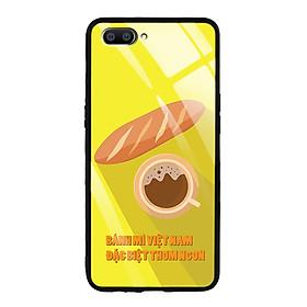 Ốp Lưng Kính Cường Lực cho điện thoại Realme C1 - 03040 8028 BANHMIVIETNAM03 - Hàng Chính Hãng