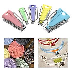 5Pcs Fabric Bias Tape Maker Binding Tool Sewing Tool 6mm 9mm 12mm 18mm 25mm