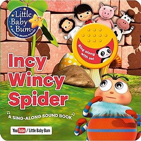 Little Baby Bum Incy Wincy Spider (Sound Book)