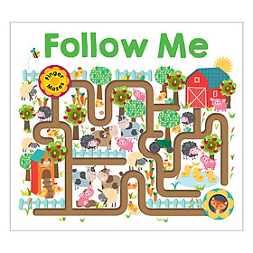 Follow Me: Maze Books - Maze Books (Board book)