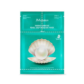 Mặt Nạ 3 Bước Chiết Xuất Ngọc Trai JM Solution Marine Luminous Pearl Deep Moisture Mask 30ml