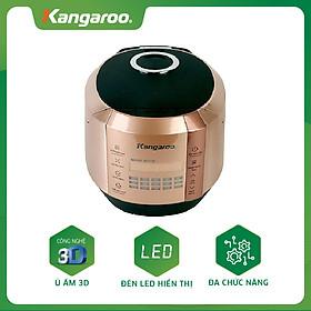 Nồi Cơm Điện Tử Kangaroo KG596 (1.5L) - Vàng đồng - Hàng chính hãng