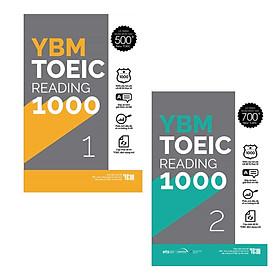 Combo YBM TOEIC Reading 1000 2 Vol (Trọn Bộ 2 Cuốn)