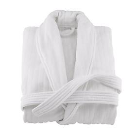Áo choàng tắm kiểu dáng Kimono dệt 100% sợi bông tự nhiên