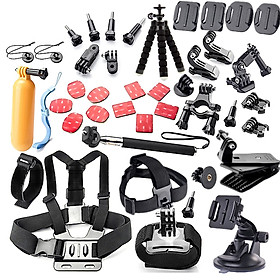 44in1 Camera Accessories Cam Tools for Outdoor Photography Cameras Protection Tool for Gopro Hero 5 4 3 2 1 Xiaomi Yi
