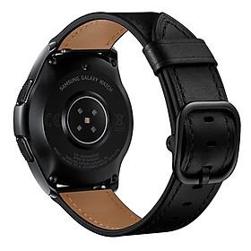 Dây Da Bò Paris Leather cho Galaxy Watch 3 45mm / Galaxy Watch 46 / Huawei Watch GT 2 / Ticwatch Pro (Size 22mm)