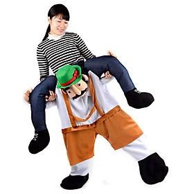 Funny Stuffed Carry Back Ride on Mascot Pants Costumes Cosplay Party Festival Performance Wear Clothes