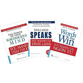 Combo 3 Cuốn : Tựa Sách: Sức Mạnh Tiềm Thức, Sức Mạnh Của Ngôn Từ, Sức Mạnh Của Tĩnh Lặng (Tái Bản)