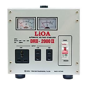Ổn áp 1 pha LiOA DRII-2000 II
