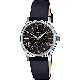 Đồng hồ Casio Nữ - dây da - LTP-E164L-1ADF
