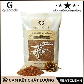 Gạo lứt ăn kiêng GUfoods (1kg) - Hỗ trợ Giảm cân - Thực dưỡng - Eat clean (có 2 lựa chọn: Lứt đỏ + Lứt tím than)