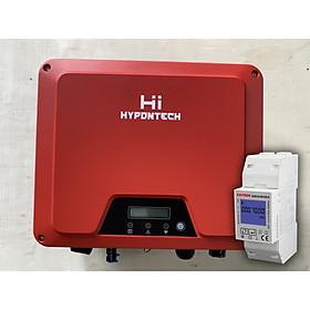 Biến tần hòa lưới bám tải HYPONTECH 3kW 1 pha HPS-3000 (Ứng dụng theo dõi HiPortal có Tiếng Việt)