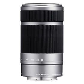Lens Sony E 55-210mm F4.5-6.3 (Silver) - Hàng Chính Hãng