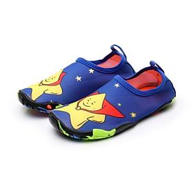 Giày đi biển, đi nước trẻ em, chơi các trò vận động, đế không trơn trượt, bảo vệ chân, nhẹ, mềm, nhanh khô, màu xanh sao siêu nhân vàng - SK026