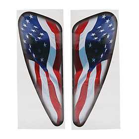 1 Pair of Motorcycle Side Oil Tank Sticker Protection for  XL883