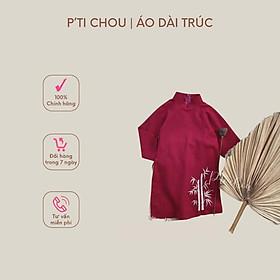 Áo dài Trúc thiết kế bởi P'ti Chou