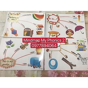 Mindmap MY PHONICS 2( Size A3- ép plastics)