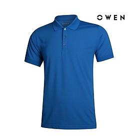 OWEN - Áo Polo nam ngắn tay Owen màu xanh 20287 - Áo thun có cổ nam